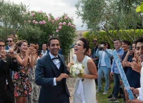"""محمد حاتم يحتفل بزفافه في فرنسا: """"أغلب اللي بحبهم مكانوش موجودين"""""""