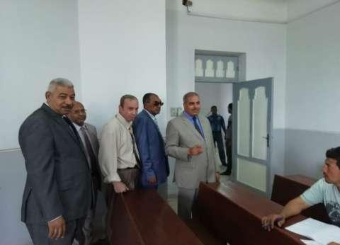 رئيس جامعة الأزهر يتفقد امتحانات التصفية ويتابع إنشاء المباني الخدمية