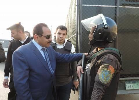 بالصور| مدير أمن الإسكندرية يتفقد الأوضاع الأمنية والخدمات المرورية