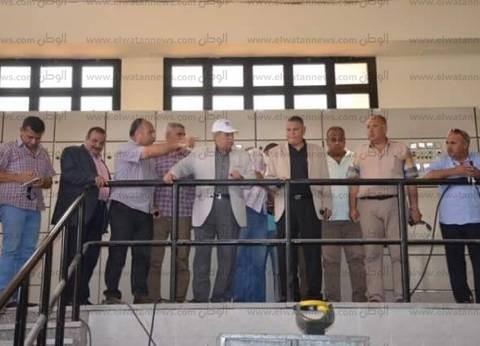 محافظ الإسماعيلية يتفقد مشروع محطة مياه الشرب بمدينة المستقبل