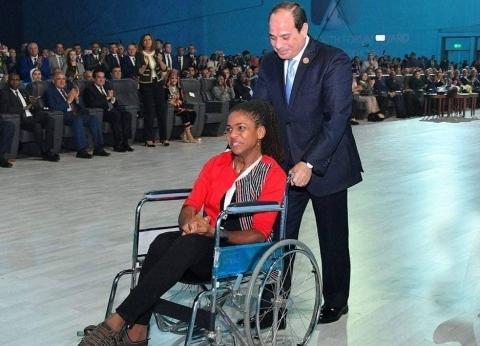 «الغانيّة» التى ساعدها الرئيس فى العودة لمقعدها: تكريم «السيسى» دعم لمسيرتى