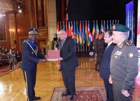 بالصور| وزيرا الداخلية والخارجية ورئيس الأركان يشهدون الاحتفال السنوى للكوادر الأمنية الأفريقية