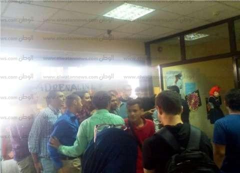 تظاهر العشرات من طلاب كلية العلوم الطبية التطبيقية بجامعة المنوفية