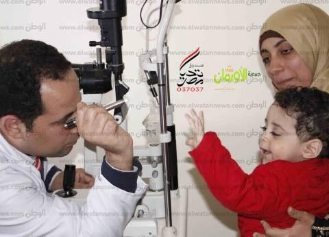 """""""تحيا مصر"""" و""""الأورمان"""" يطلقان قوافل موسعة لعلاج أمراض العيون بالغربية"""