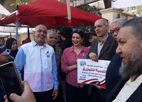 وفاء عامر: سعيدة بمشاركة المصريين بالاستفتاء.. واخترت «نعم» للتعديلات