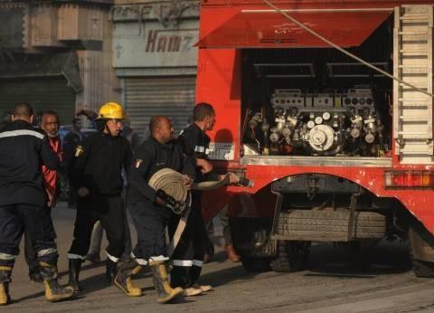 السيطرة على حريق بمحل تجاري في السويس