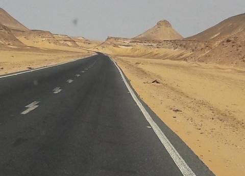 800 مليون جنيه لرفع كفاءة 300 كم طرق سريعة في الوادي الجديد