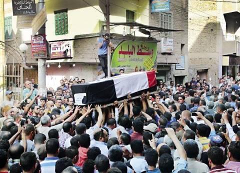 مصر تودع «شهداء الداخلية»