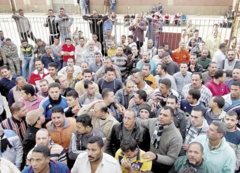 عمال محاجر الشرقية يواصلون اعتصامهم لليوم الخامس على التوالي