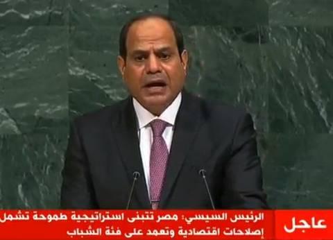 داليا زيادة: مصر تستعيد مكانتها.. وحديث الرئيس يأسر القلوب والعقول