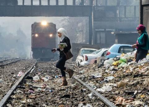 «النقل»: اللصوص وواضعو اليد يستبيحون 190 مليون متر من أملاك «السكة الحديد»