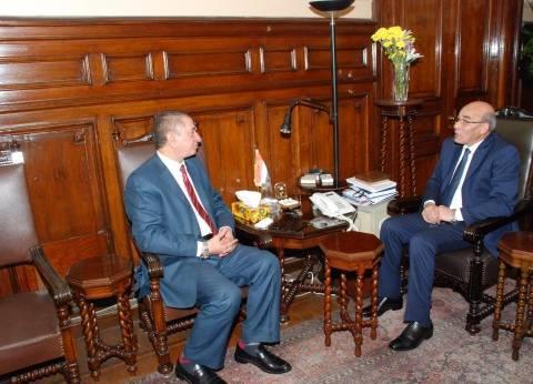 وزير الزراعة ومحافظ كفر الشيخ يبحثان التعاون لتحقيق التنمية الزراعية