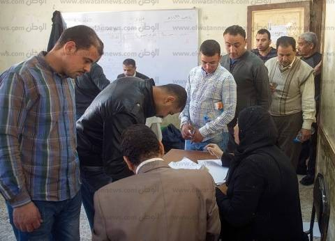 توافد آلاف العمال من شركة عصفور للمشاركة في الانتخابات بمنطقة حلوان