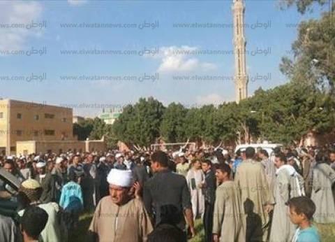 """تشيع جثمان الشهيد """"هشام البزاوي"""" في جنازة عسكرية بالمحلة"""