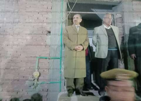 محافظ أسيوط يشكل لجنة هندسية لمعاينة منزل منفلوط المنهار