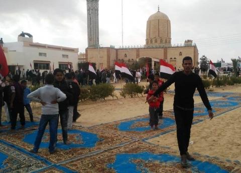 مصر تقهر الإرهاب بتنمية سيناء وتحوِّل قرية الروضة إلى «جنة مشروعات»