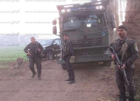 القبض على 4 عاطلين بحوزتهم أسلحة بيضاء في حملة أمنية بالإسماعيلية