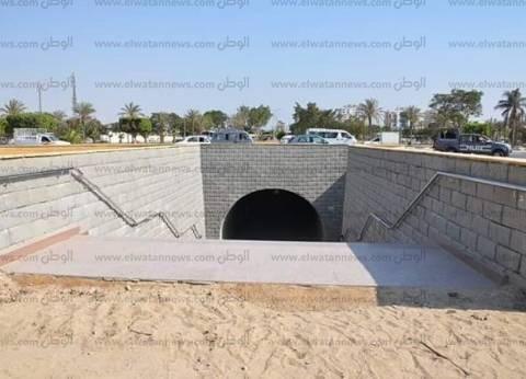محافظ الإسماعيلية: الانتهاء من تشطيبا مشروع نفق المشاه الجديد