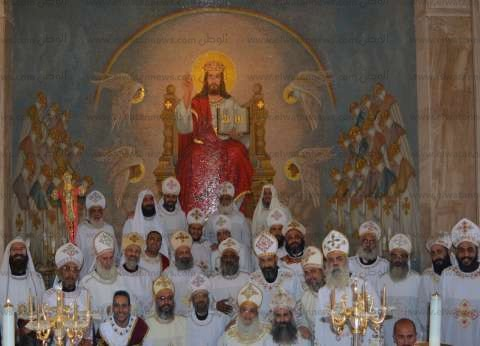 الكنيسة تنظم مؤتمر الألحان للكهنة بدير مار مينا بمريوط