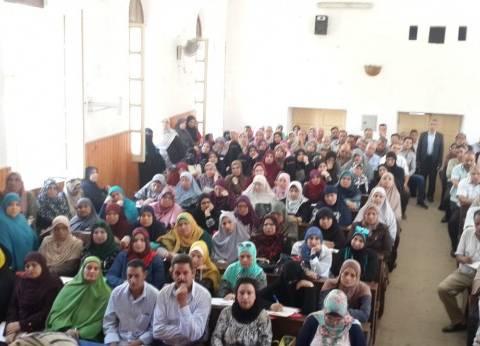 """تفاصيل المؤتمر الأول لبرنامج """"المعلمون أولا"""" في دمياط"""