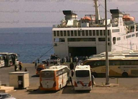 وصول أول فوج من حجاج البر إلى ميناء نويبع
