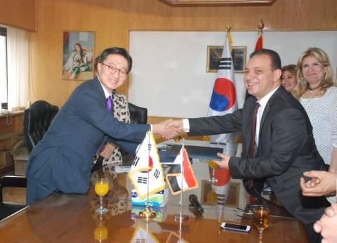 سفير كوريا الجنوبية: مصر دولة عريقة.. وسعيد بزيارة التليفزيون المصري