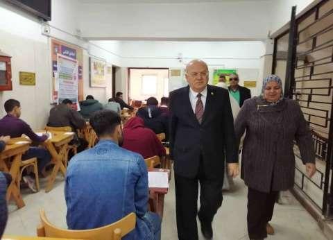 رئيس جامعة الزقازيق يطالب بتعميم كاميرات المراقبة لمتابعة الامتحانات