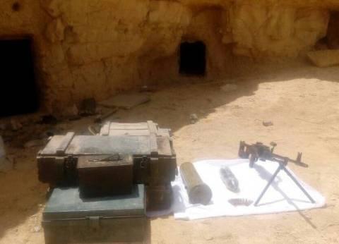 بالصور  الجيش الثالث يقتل تكفيريين بوسط سيناء ويدمر 7 أفدنة بانجو