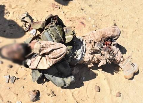 مقتل 5 تكفيريين وإصابة 6 آخرين في إحباط هجوم بشمال سيناء