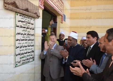 افتتاح مشروعات خدمية جديدة بمركزي إهناسيا وببا في بني سويف