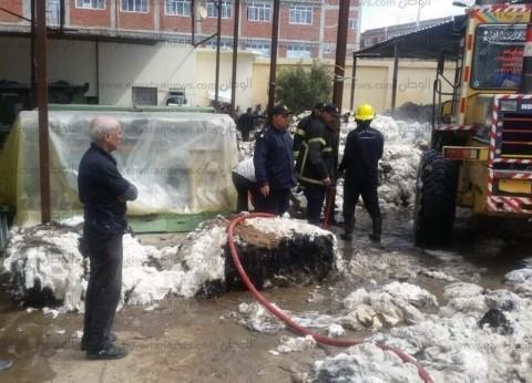 بالصور  ارتفاع عدد مصابي حريق مصنع ملابس البحيرة إلى 8 عاملات