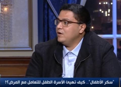 """عمرو عمر: 90% من الأطفال قد يصابون بـ""""النوع الأول من السكر"""""""