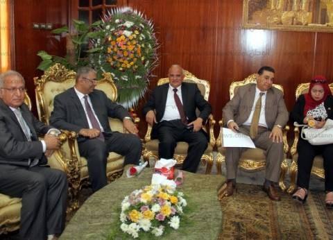 بالصور| رئيس جامعة طنطا يشارك في اجتماع المجلس الأعلى للجامعات
