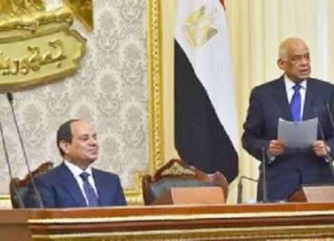 """رئيس النواب يهنئ السيسي بـ""""تحرير سيناء"""": يوم مشهود في تاريخ النضال"""