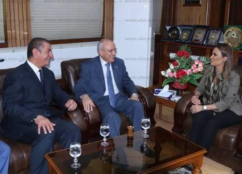 محافظ كفر الشيخ: وزيرة الاستثمار سيدة المهام الصعبة