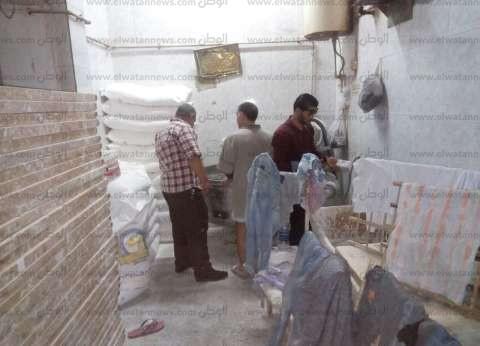 """""""تموين المنيا"""": تحرير 74 محضر مخالفات مخابز بلدية"""