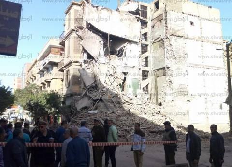 عاجل| انهيار عقار تراثي في بني سويف.. ونجاة مئات التلاميذ
