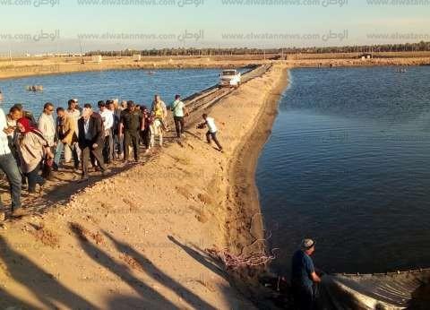 بالصور| وزير الزراعة: مشروع الاستزراع السمكي يحقق الاكتفاء الذاتي
