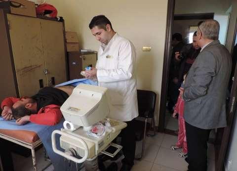 قافلة طبية بقرية القصر بمطروح تكشف على 650 مريض بالمجان