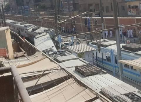 المترو: توقف الحركة بمحطة المرج بسبب عطل في أحد القطارات