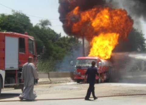 """صحة الشرقية: مصاب حريق محطة """"منيا القمح"""" حالته مستقرة"""