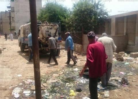 تسليك بيارات الصرف الصحي بحي جنوب في دسوق بكفر الشيخ