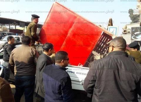 تحرير 75 قضية في حملة مرافق بمدينة مرسى مطروح