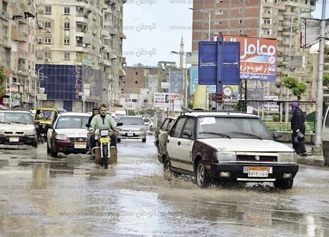 أمطار ورياح بالمدن الساحلية.. وتوقف الصيد فى دمياط وكفر الشيخ