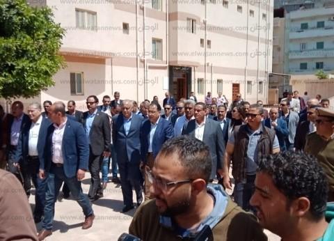 رئيس الوزراء يتفقد مستشفى رشيد المركزي في البحيرة