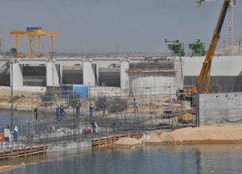 """""""الري"""": الانتهاء من مشروع قناطر أسيوط الجديدة في سبتمبر 2017"""
