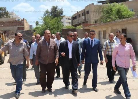 محافظ كفر الشيخ يتفقد قطاع التشييد والبناء