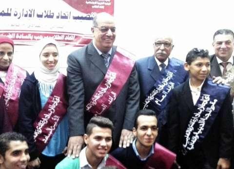 حفل تنصيب اتحاد الطلاب بالمراحل الثلاثة بإدارة المنتزه التعليمية بالإسكندرية