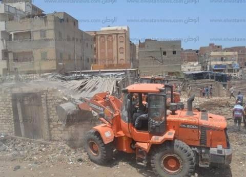 """""""أمن كفر الشيخ"""" ينفذ 16 قرار إزالة تعديات على الأراضي الزراعية"""