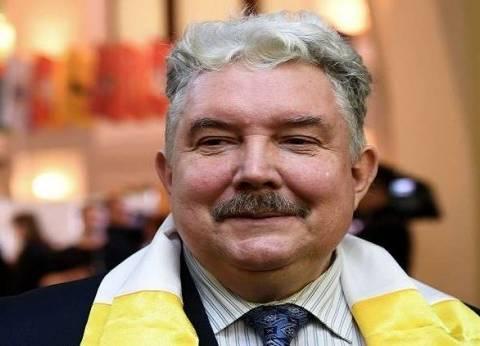 المرشح بابورين يشارك بوتين مركز الاقتراع في الانتخابات الرئاسية الروسي